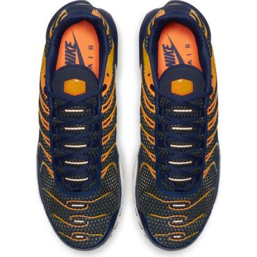 Nike Air Max Plus Herren Sneaker blau orange 852630 408 – Bild 5