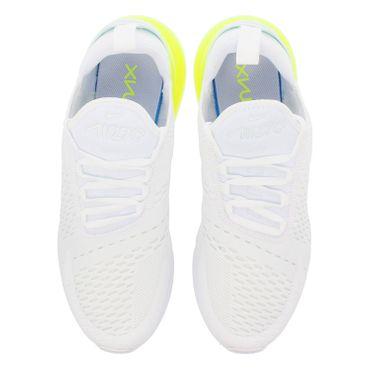 Nike Air Max 270 Herren Sneaker weiß neongelb AH8050 104 – Bild 3