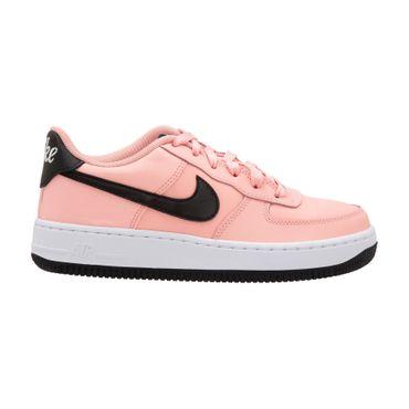 Nike Air Force 1 VDAY (GS) Sneaker korall schwarz BQ6980 600 – Bild 1
