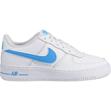 Nike Air Force 1-3 GS Sneaker weiß blau AV6252 102 – Bild 1