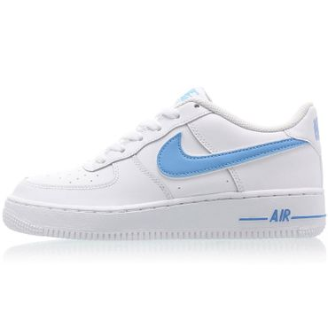 Nike Air Force 1-3 GS Sneaker weiß blau AV6252 102 – Bild 2