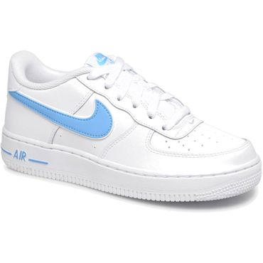 Nike Air Force 1-3 GS Sneaker weiß blau AV6252 102 – Bild 3