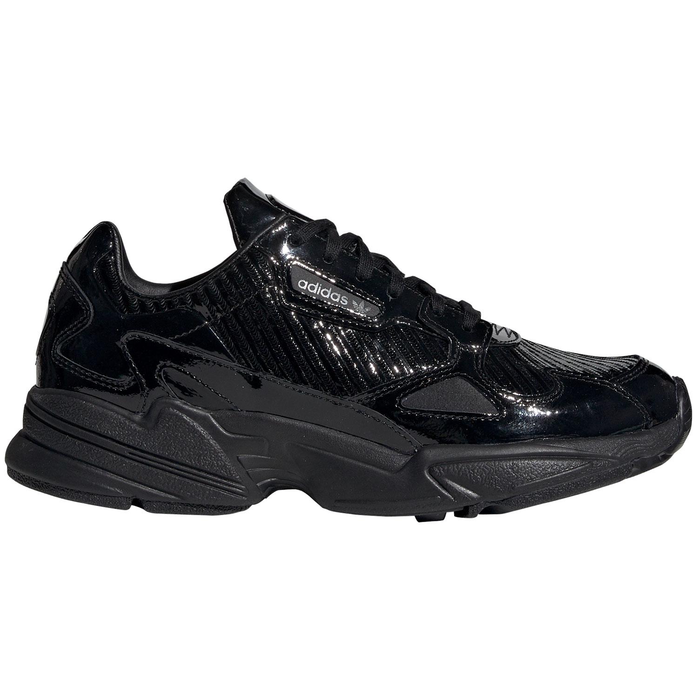 adidas Originals Falcon W Damen Sneaker schwarz Lack CG6248