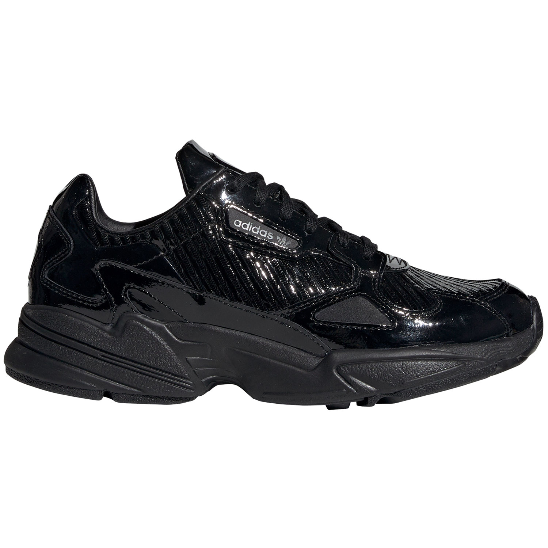 online store 71b3c d302e adidas Originals Falcon W Damen Sneaker schwarz Lack CG6248