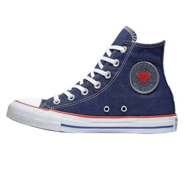 Converse All Star Hi Chuck Taylor Chucks Denim Love 163303C – Bild 2