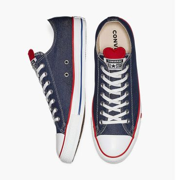 Converse All Star Ox Chuck Taylor Chucks Denim Love 163308C – Bild 5