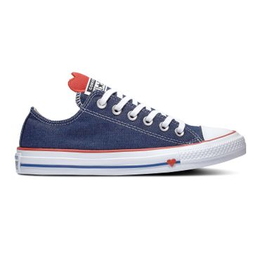 Converse All Star Ox Chuck Taylor Chucks Denim Love 163308C – Bild 1