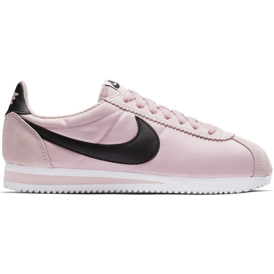 best authentic ad736 010b3 Nike WMNS Classic Cortez Nylon Damen Sneaker lila schwarz 74
