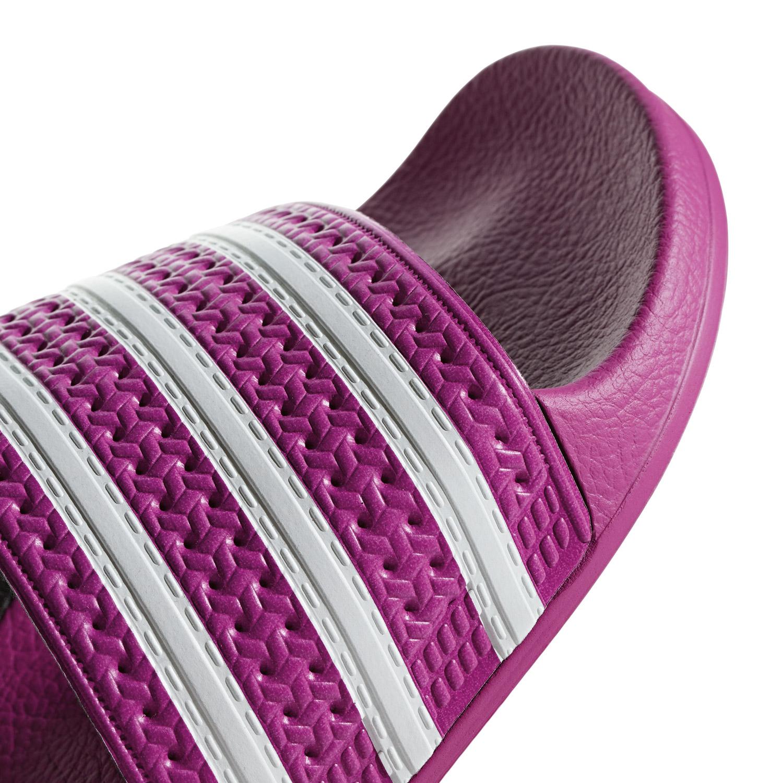 new product d111a 44764 adidas Originals Adilette W Damen Slipper pink weiß CG6539