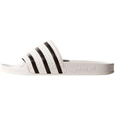 adidas Originals Adilette Slipper weiß schwarz 280648 – Bild 2