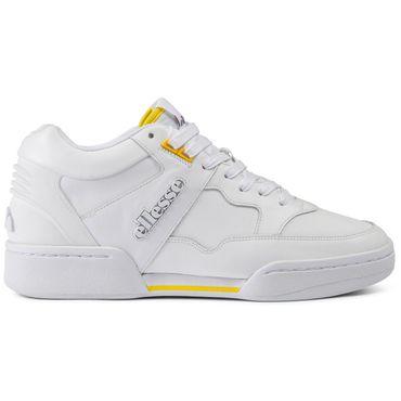 Ellesse Piazza LTHR Herren Sneaker weiß gelb 6-10121