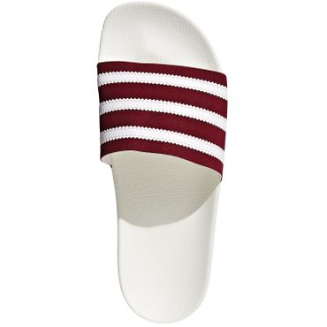 adidas Originals Adilette Slipper beige bordeaux BD7574 – Bild 5