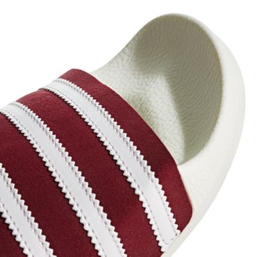adidas Originals Adilette Slipper beige bordeaux BD7574 – Bild 2