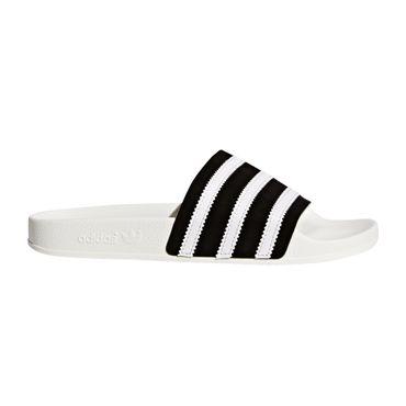 adidas Originals Adilette Slipper weiß schwarz BD7592 – Bild 1
