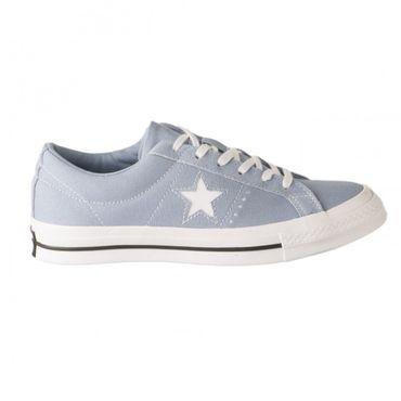 Converse One Star Ox Damen Sneaker indigo fog 163314C – Bild 1