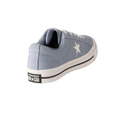 Converse One Star Ox Damen Sneaker indigo fog 163314C – Bild 4