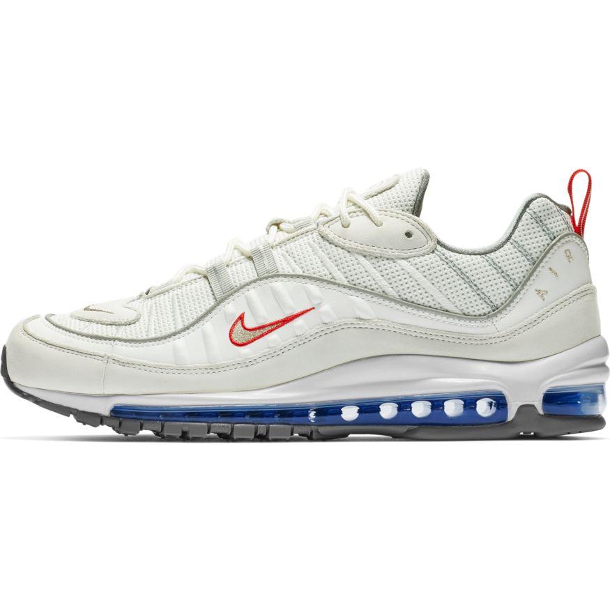 9c3622b8fded78 Nike Air Max 98 Herren Sneaker weiß grau CD1538 100