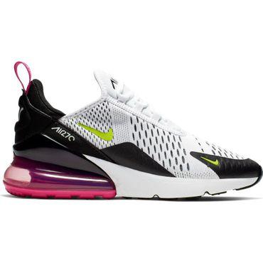 Nike Air Max 270 (GS) Kinder Sneaker weiß volt 943345 102  – Bild 1