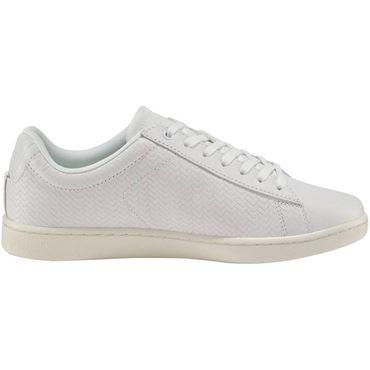 Lacoste Carnaby Evo 119 Damen Sneaker off white gold 7-37SFA001318C – Bild 4