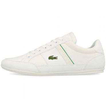 Lacoste Chaymon 219 CMA Herren Sneaker weiß grün 7-37CMA0011082 – Bild 2