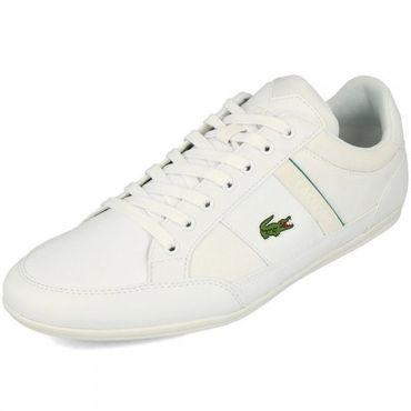Lacoste Chaymon 219 CMA Herren Sneaker weiß grün 7-37CMA0011082 – Bild 3