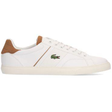 Lacoste Fairlead 119 Herren Sneaker weiß braun 7-37CMA00352J8 – Bild 1