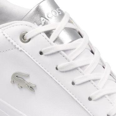 Lacoste Lerond 119 Damen Sneaker weiß silber 7-37CFA0070108 – Bild 3