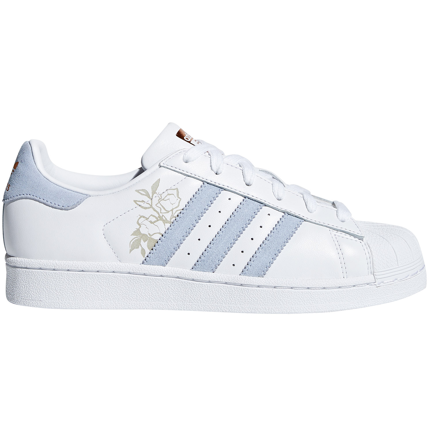 629c5cbc9cd74e adidas Originals Superstar W Damen Sneaker weiß grau CG5939