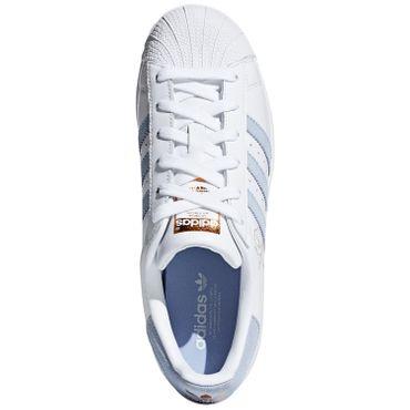 90c3bc7b7e60b0 adidas Originals Superstar W Damen Sneaker weiß grau CG5939 – Bild 5