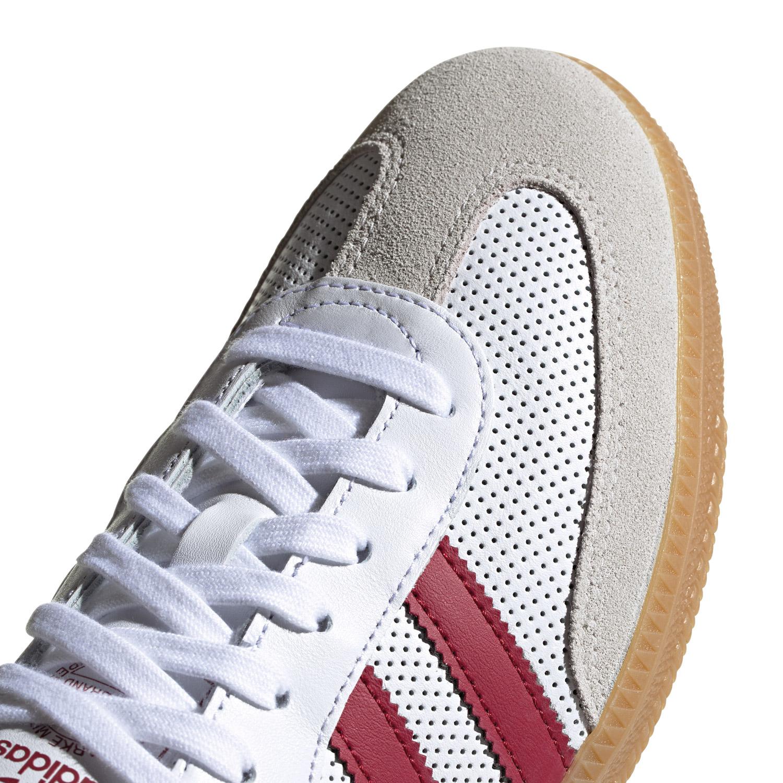 adidas Samba OG FT Herren Sneaker weiß bordeaux BD7528