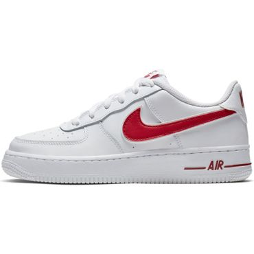Nike Air Force 1-3 GS Sneaker weiß rot AV6252 101 – Bild 2
