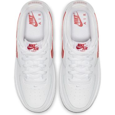 Nike Air Force 1-3 GS Sneaker weiß rot AV6252 101 – Bild 5