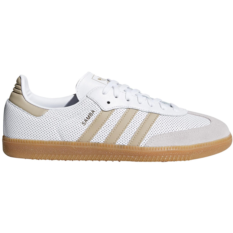 adidas samba weiß and blau