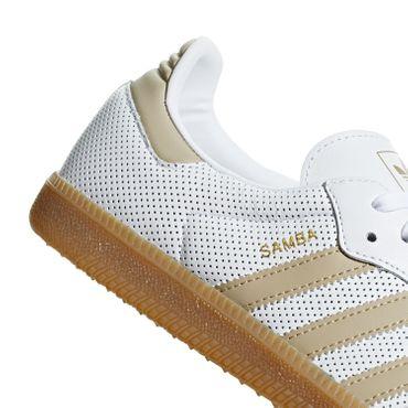 adidas Samba OG Herren Sneaker weiß beige BD7544  – Bild 3