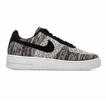 Nike Air Force 1 Flyknit 2.0 Herren Sneaker schwarz weiß AV3042 001 – Bild 1