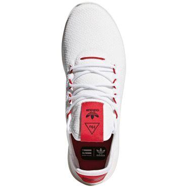 adidas Originals PW Tennis HU Sneaker weiß rot BD7530 – Bild 5