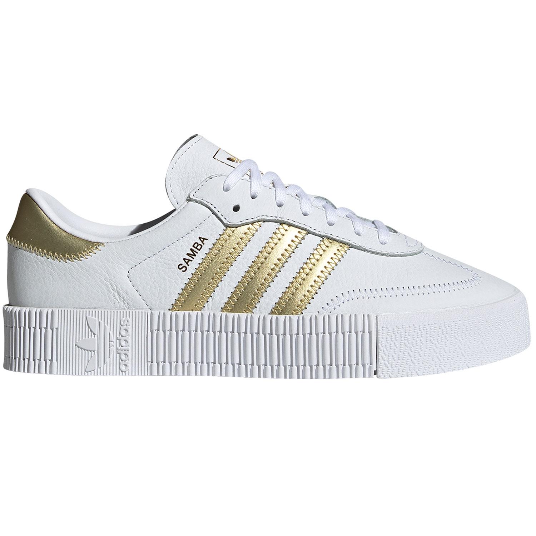 adidas Originals Sambarose W Damen Sneaker weiß gold EE4681