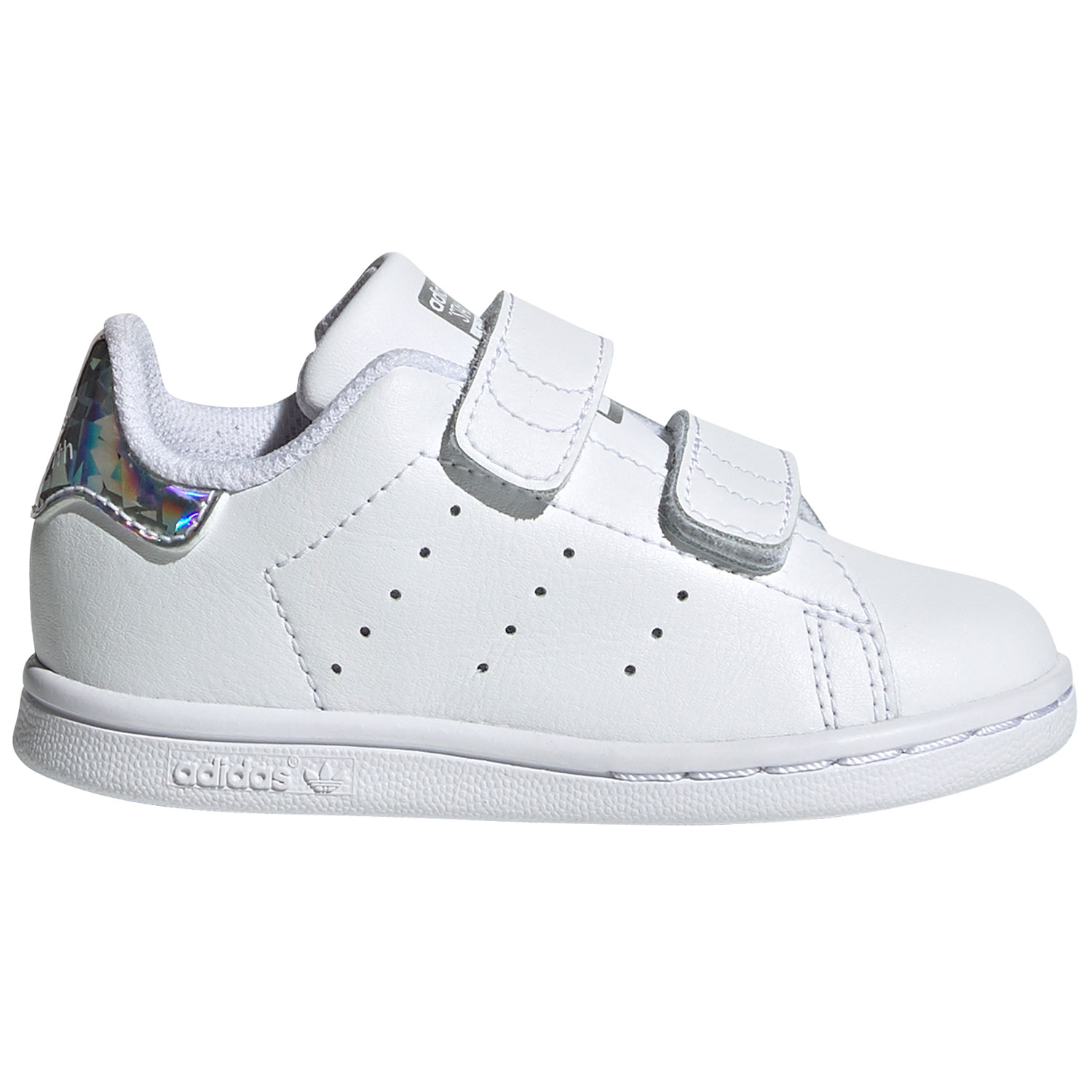 quality design 049ed 189bd adidas Originals Stan Smith CF I Kinder Sneaker weiß metallic EE8485
