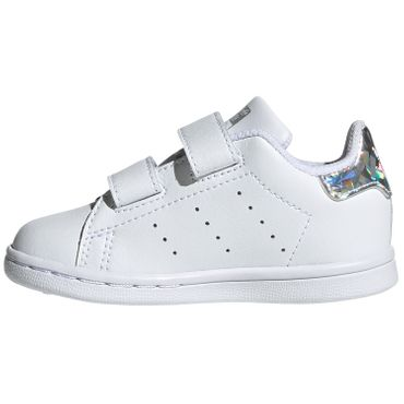 adidas Originals Stan Smith CF I Kinder Sneaker weiß metallic EE8485 – Bild 2