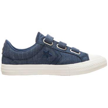 Converse Star Player EV 3V OX Kinder Sneaker navy 664434C