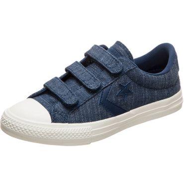 Converse Star Player EV 3V OX Kinder Sneaker navy 664434C – Bild 3