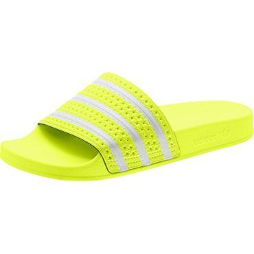 adidas Originals Adilette Slipper solar yellow EE6182 – Bild 4