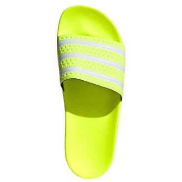 adidas Originals Adilette Slipper solar yellow EE6182 – Bild 8