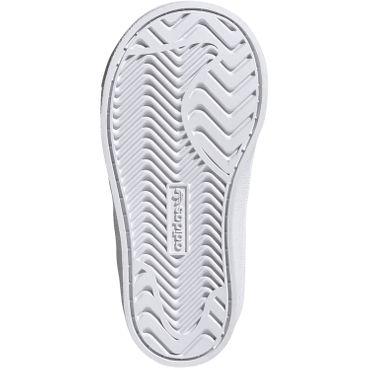 adidas Originals Coast Star EL I Kinder Sneaker weiß pink EE7509 – Bild 8