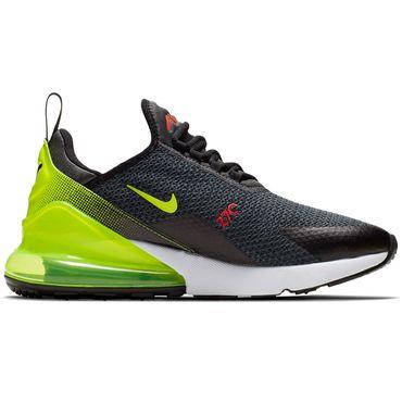 Nike Air Max 270 SE Herren Sneaker grau neongelb AQ9164 005 – Bild 1
