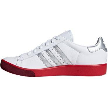 adidas Originals Forest Hills Herren Sneaker weiß rot BD7622 – Bild 2