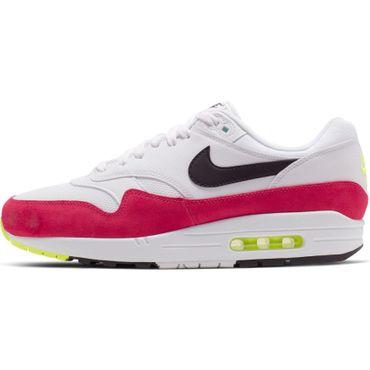 Nike Air Max 1 Herren Sneaker weiß schwarz pink AH8145 111 – Bild 2