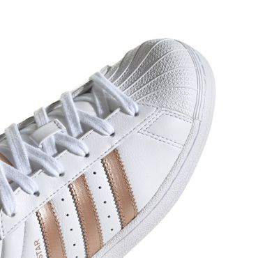 adidas Originals Superstar W Damen Sneaker weiß bronze EE7399 – Bild 3
