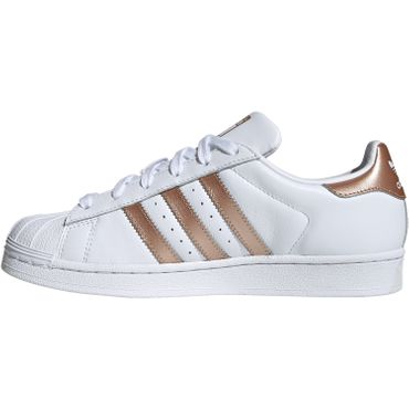 adidas Originals Superstar W Damen Sneaker weiß bronze EE7399 – Bild 2