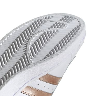 adidas Originals Superstar W Damen Sneaker weiß bronze EE7399 – Bild 5